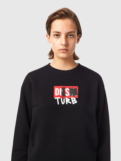 Diesel - F-ANGS-B3, Black - Sweaters - Image 3