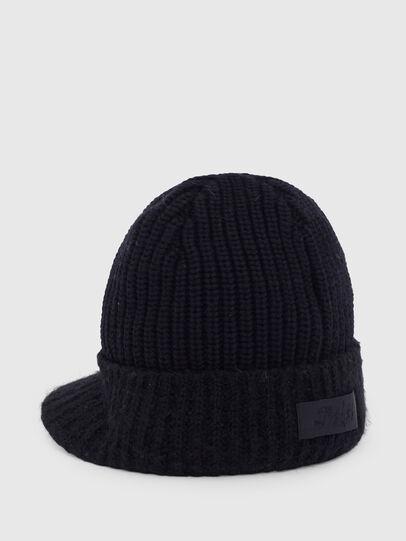 Diesel - K-AGO, Black - Knit caps - Image 2