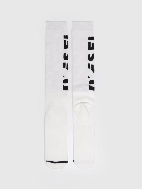 SKM-LONG, White - Socks