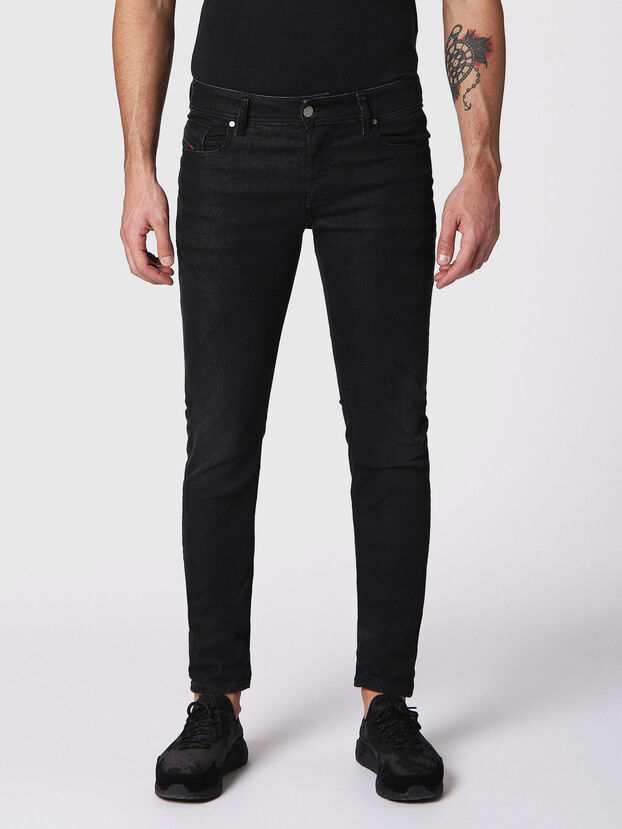 Sleenker 084SB, Black/Dark grey - Jeans