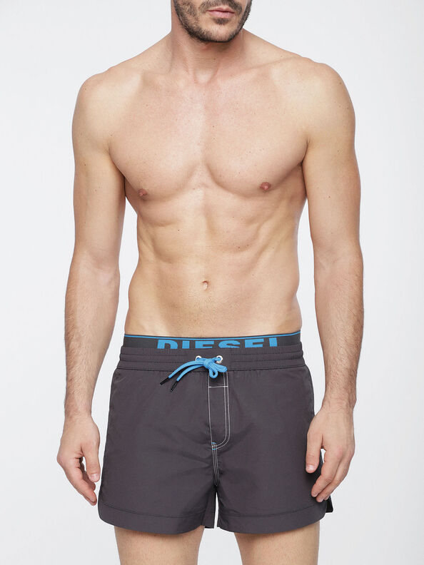 BMBX-SEASIDE-S 2.017, Mud - Swim shorts