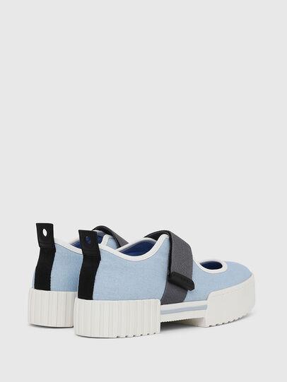 Diesel - H-MERLEY B, Azure - Sneakers - Image 3