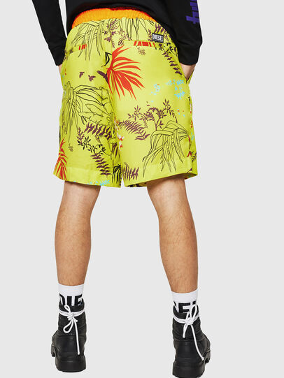 Diesel - P-NOTERY, Green Fluo - Shorts - Image 2