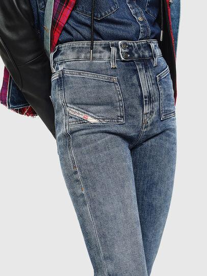 Diesel - D-Earlie 0098W, Medium blue - Jeans - Image 3