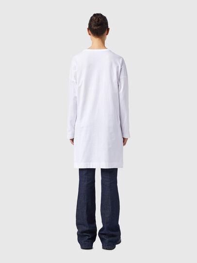 Diesel - D-WALKY-ECOLOGO, White - Dresses - Image 2