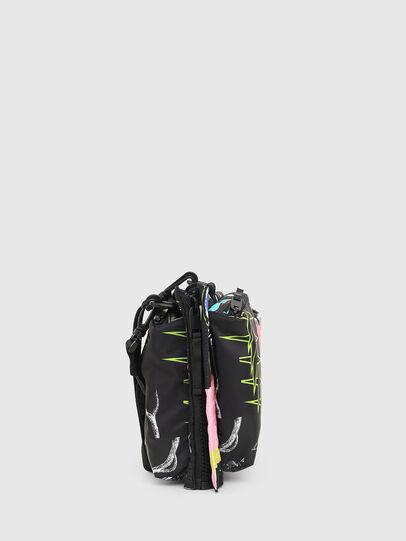 Diesel - WARMY, Black - Crossbody Bags - Image 3