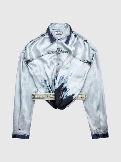Diesel - C-SUKI, Light Blue - Shirts - Image 1