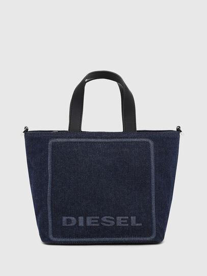 Diesel - PUMPKIE, Dark Blue - Satchels and Handbags - Image 1