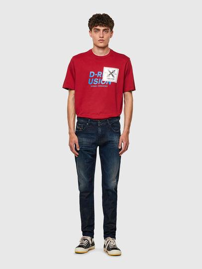 Diesel - D-Strukt JoggJeans® 09B50, Dark Blue - Jeans - Image 5