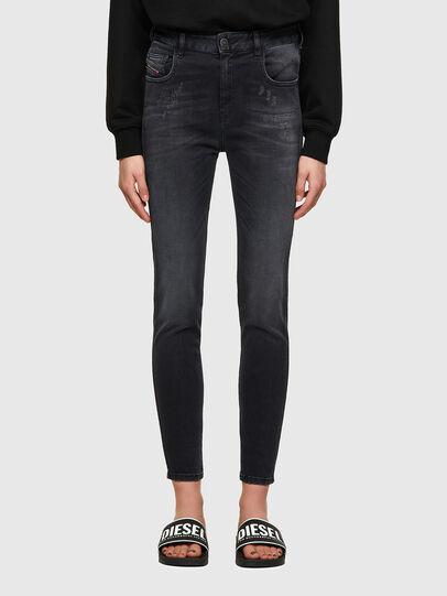Diesel - Slandy High 069SB, Black/Dark grey - Jeans - Image 1