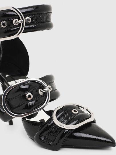 Diesel - D-SLANTY HHB, Black - Heels - Image 5