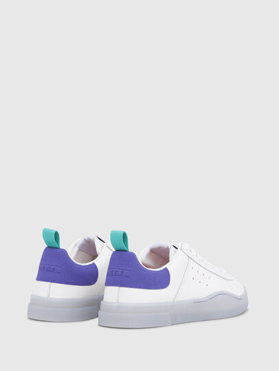 Diesel - S-CLEVER LOW W, Bright White - Sneakers - Image 3