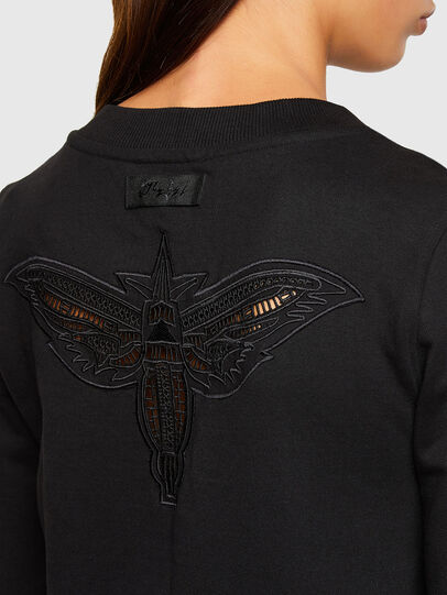 Diesel - F-AMOUS, Black - Sweaters - Image 3