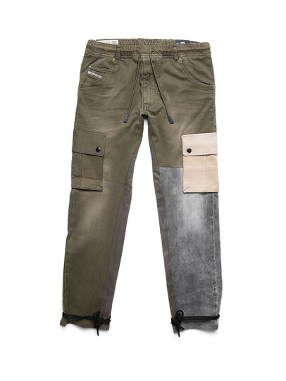 Diesel - D-ARGO-JOGG, Military Green - Pants - Image 1