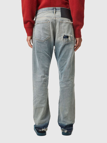 Diesel - D-Viker 09A21, Light Blue - Jeans - Image 2