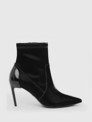 D-SLANTY MABZC, Black - Ankle Boots