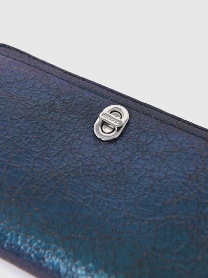 Diesel - GRANATO LC II, Blue - Zip-Round Wallets - Image 5