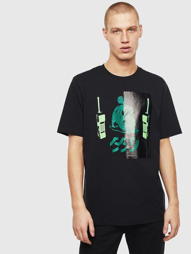 T-JUST-T30, Black - T-Shirts