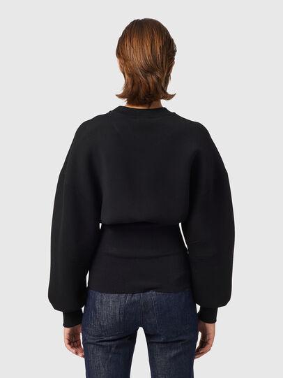 Diesel - F-BELTANA, Black - Sweaters - Image 2