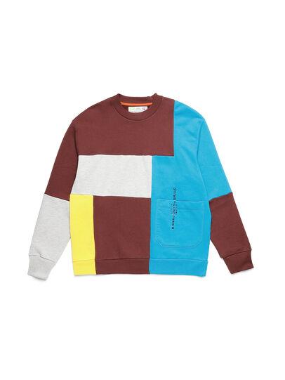 Diesel - D-TAGLIA&CUCI, Multicolor - Sweaters - Image 1