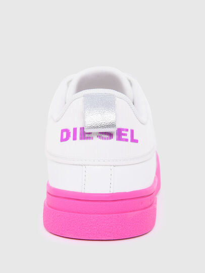 Diesel - S-CLEVER LOW LACE W, White/Pink - Sneakers - Image 6