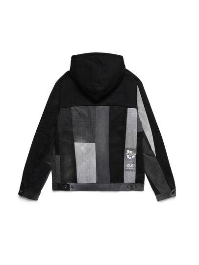 Diesel - D-BNHILL55, Black - Denim Jackets - Image 2