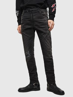 CL-Krooley-T-CB JoggJeans 069PK, Black - Jeans