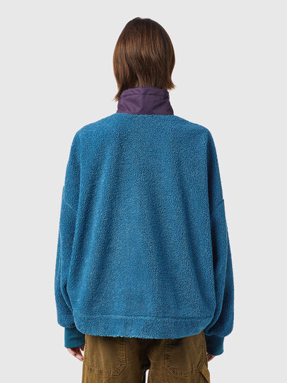 Diesel - F-CROPTED, Blue - Sweaters - Image 2
