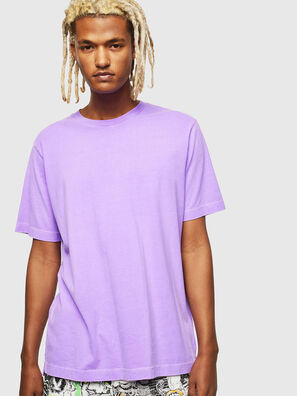 T-JUST-SLITS-FLUO, Lilac - T-Shirts
