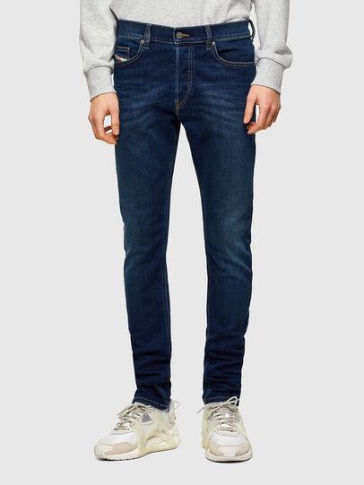 Diesel - D-Luster 009ML, Dark Blue - Jeans - Image 1