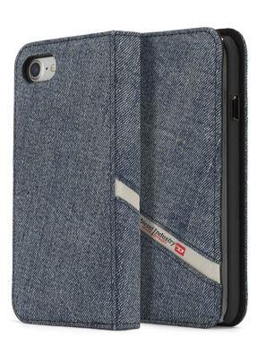 DENIM IPHONE 8 PLUS/7 PLUS FOLIO, Blue Jeans - Flip covers