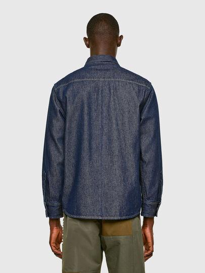 Diesel - D-RAPP, Dark Blue - Denim Shirts - Image 2