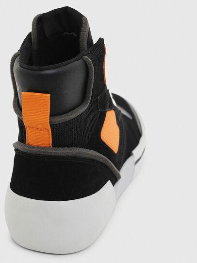 Diesel - S-DESE MS, Black/Orange - Sneakers - Image 6