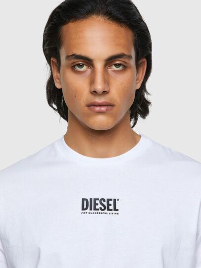 Diesel - T-DIEGOS-ECOSMALLOGO, White - T-Shirts - Image 3