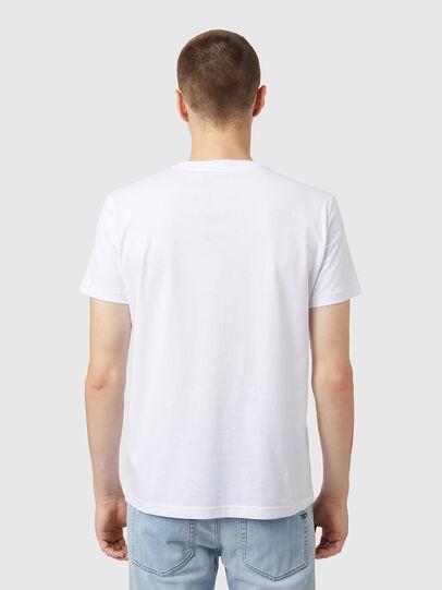 Diesel - T-DIEGOS-B5, White - T-Shirts - Image 2