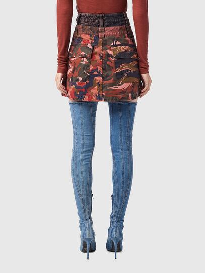Diesel - O-GIU, Pink/Brown - Skirts - Image 2