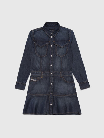 Diesel - DEJOANA, Dark Blue - Dresses - Image 1