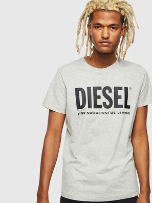 T-DIEGO-LOGO, Grey - T-Shirts