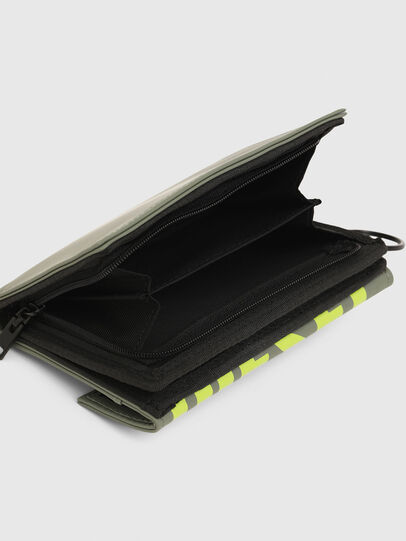 Diesel - YOSHI II, Olive Green - Small Wallets - Image 4