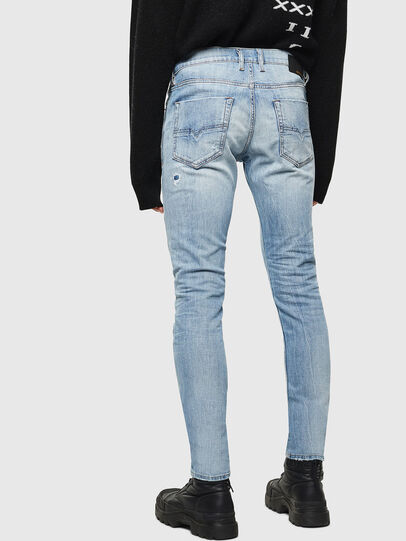Diesel - Tepphar 0095V, Light Blue - Jeans - Image 2