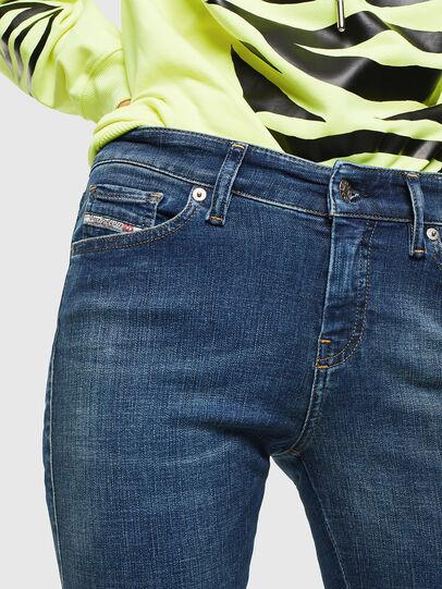 Diesel - Slandy 069KW, Dark Blue - Jeans - Image 3