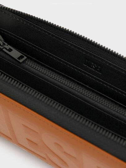 Diesel - 24 ZIP, Orange - Zip-Round Wallets - Image 3