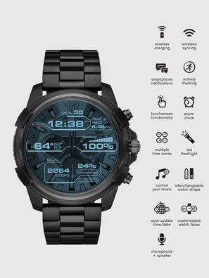 DT2007, Black - Smartwatches