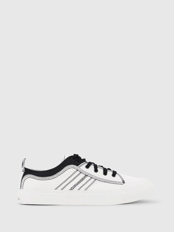 S-ASTICO LOW LACE, White/Black - Sneakers