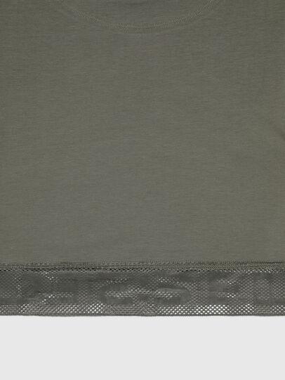 Diesel - UFTEE-GIORGMESH-SV, Military Green - T-Shirts - Image 4
