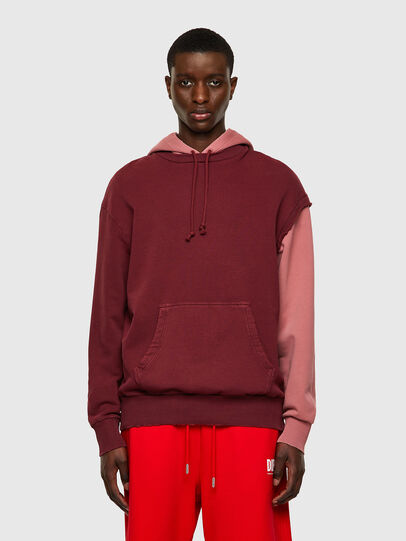 Diesel - S-CRAZY-B1, Red/Pink - Sweaters - Image 1
