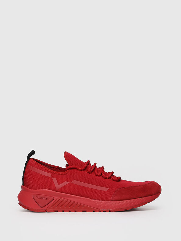 S-KBY STRIPE, Red - Sneakers