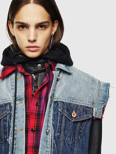 Diesel - L-MARALI,  - Leather jackets - Image 5