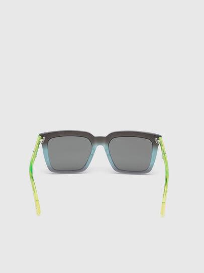 Diesel - DL0284, Blue/Yellow - Sunglasses - Image 4