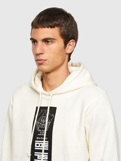Diesel - S-GIRK-HOOD-N3, White - Sweaters - Image 3